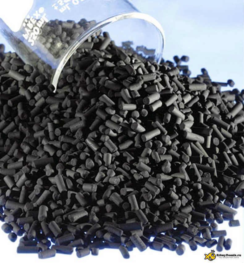 Гранулированный уголь для аквариума