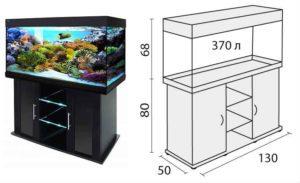 Чертежи тумб для аквариума