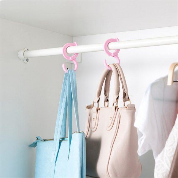 2PCS-LOT-Colorful-Anti-wind-Hooks-Hangers-Ring-Shawl-Scarf-Belt-Tie-Closet-Organizer-Out-Door