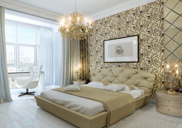 Как выбрать подходящий материал обоев в спальню?