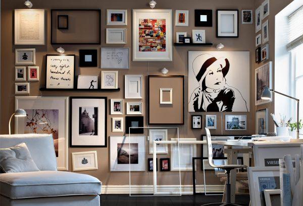 Ikea-Wall-Of-Art