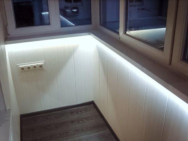 Option-LED-backlight-loggia