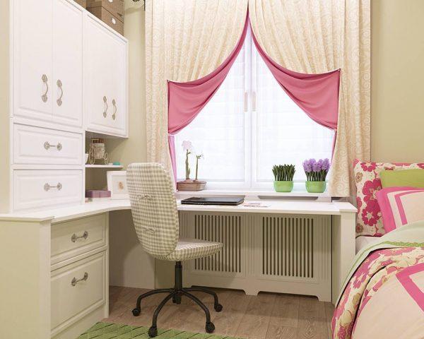Как правильно оформить окна в детской комнате?