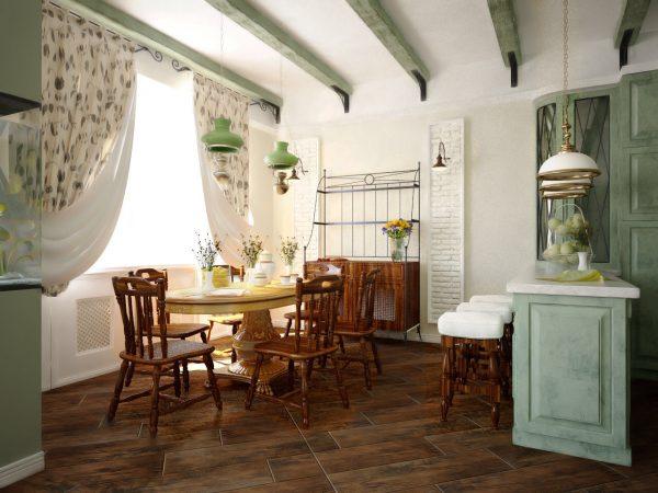 Воплощаем обстановку загородного жилья — стиль Кантри в интерьере