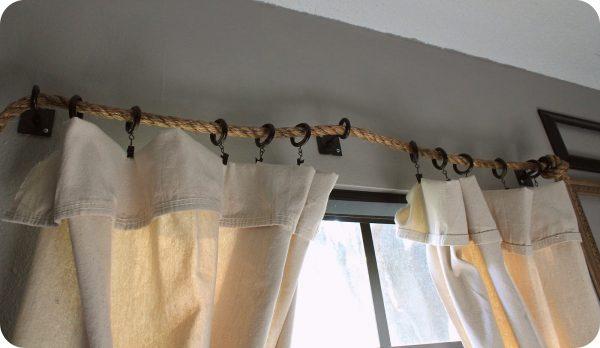 Вешаем шторы без привычных карнизов