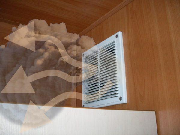Что делать, если из вентиляции дует холод в квартиру?