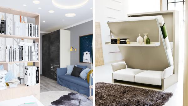 Как сэкономить место в малогабаритной квартире?