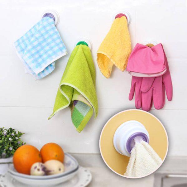 Интересные идеи организации хранения кухонных полотенец и салфеток