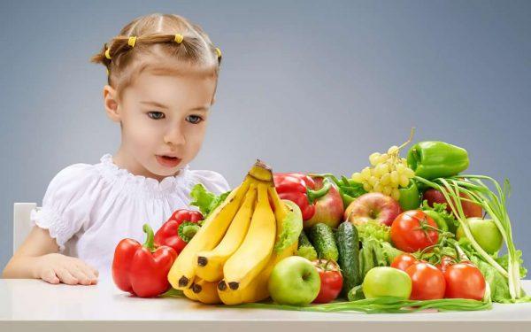 Список продуктов, которые крайне необходимы ребёнку