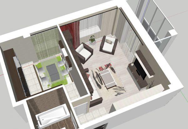 Как разработать дизайн квартиры