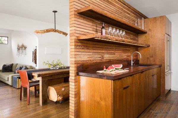 Деревянный стиль в интерьере, особенности и преимущества