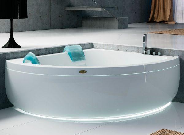 Лучшие световые композиции для ванной комнаты