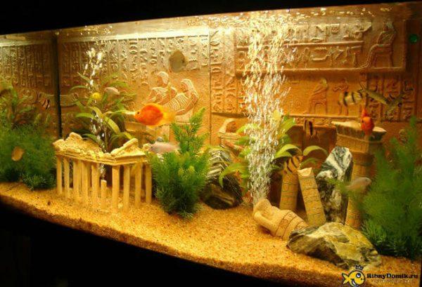 Аквариум для рыбок своими руками